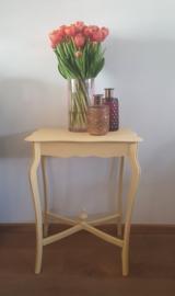 Vrolijke Sunflower gele plantentafel