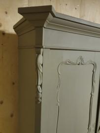 "Antieke Biedermeier linnenkast / kinderkledingkast ""Belgian Stone"""