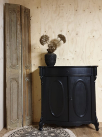 "Antieke commode / dienstmeidenkastje ""Pure Black"""