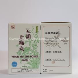 Yuan Hu Zhi Tong Wan - 元胡止痛丸