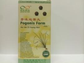 Mai wei di huang wan - Pogonis form