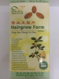 Yang xue sheng fa pian - Hairgrow form