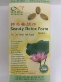Pai du yang yan pian - Beauty detox form