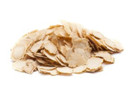 White Ginseng slices - Sun-cured Ginseng Slice - Sun-cured Ginseng Slice - 100 gr