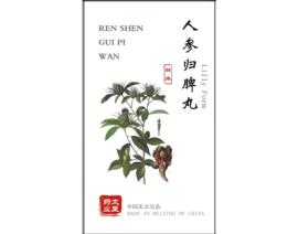 Ren shen Gui pi wan - Lilly Form - 人参归脾丸