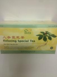 Ren shen ling zhi cha - Relaxing special tea