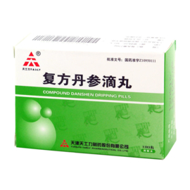 Compound Danshen Dripping pills 2pc No BOX