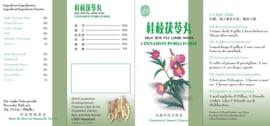 Gui Zhi Fu Ling Wan - Cinnamon Poria Form  - Sao Wu Pai