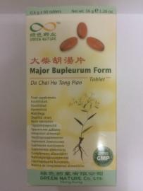 Da chai hu tang pian - Major Bupleurum form