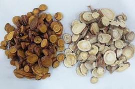 Gan cao zhi - Radix Glyrrhizae preparata - Liquorice root prepared - 100gr