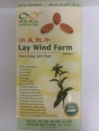 Xiao feng san pian - Lay wind form