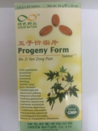Wu zi yan zong pian - Progeny form