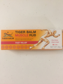 Tiger Balm - Muscle rub - Fast relief