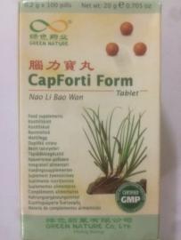 Nao li bao wan - Capforti form