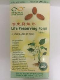 Ji sheng shen qi pian - Life Preserving form