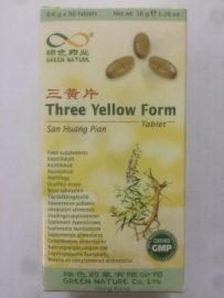 San huang pian - Three yellow form