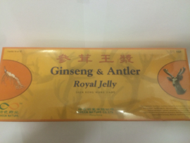 Shen rong wang jiang - Gingseng & antler royal jelly 10ml x30Btl