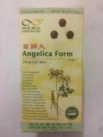 Dang gui wan - Angelica form