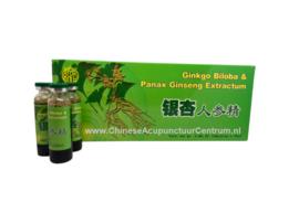 Yin xing ren shen jing - Ginkgo biloba & Panax ginseng extractum 10x10 ML
