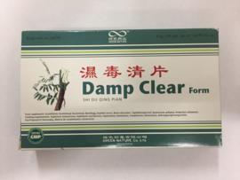 Shi du qing pian - Damp clear form