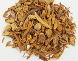 Qin Jiao - Radix Gentianea Macrophyllae - Largeleaf Gentian Root - 100 gr