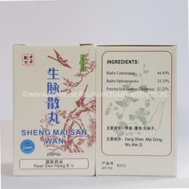 Sheng Mai San Wan - 生脉散丸