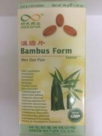 Wen dan pian - Bambus form