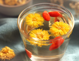 Chrysanthemum and Goji Berry Tea