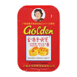 Golden Throat Sugar Free Herbal Lozenges