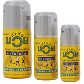 Boxing Liniment - Thaise Namman Muay Olie 30ml