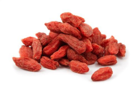 Gou qi zi - Fructus lycii chinensis - wolfberry fruit - Go Ji bessen - 100 gram