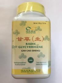 Gan Cao (Sheng) Ke Li - Radix Glycyrrhizae