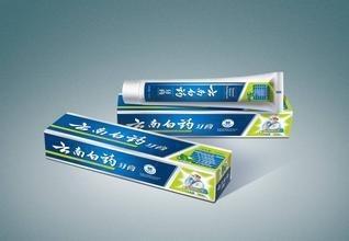 Yun nan bai yao ya gao (Mint)- Yunnan baiyao mint toothpaste