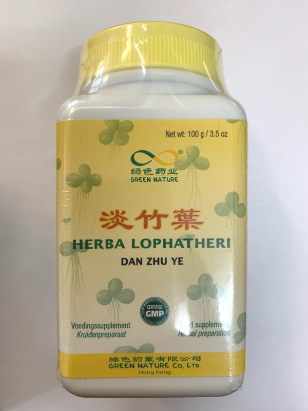 Dan Zhu Ye Granules - Herba Lophatheri - 淡竹葉顆粒