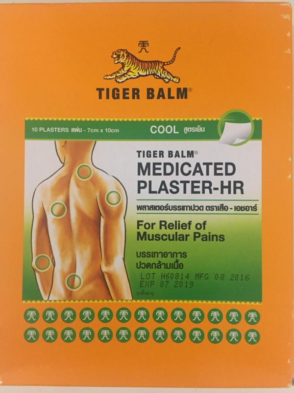 Tigerbalm plaster Cool 27 stuks 10cm x 14cm