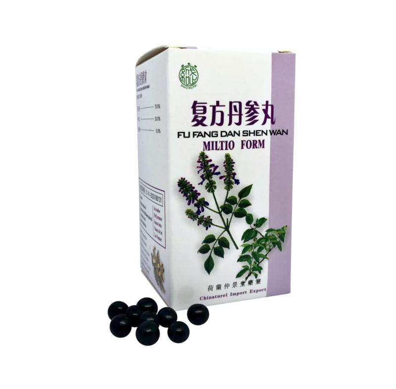 Fu Fang Dan Shen Wan - Miltio Form - 复方丹参丸