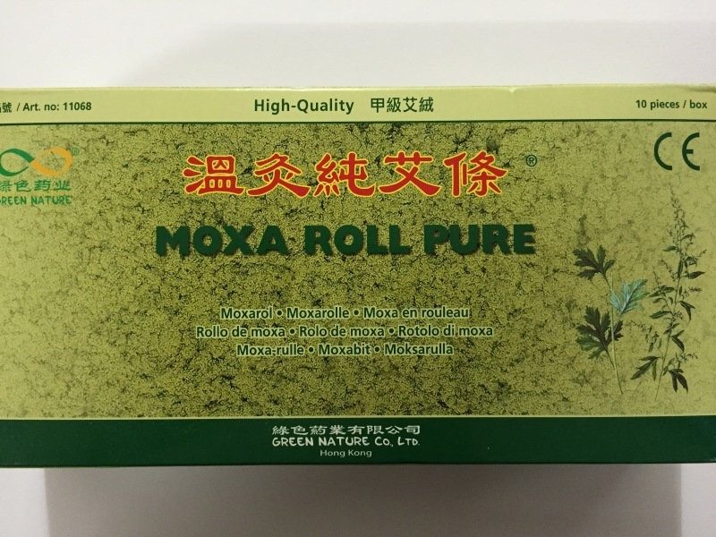Moxa roll pure 10 pcs/box