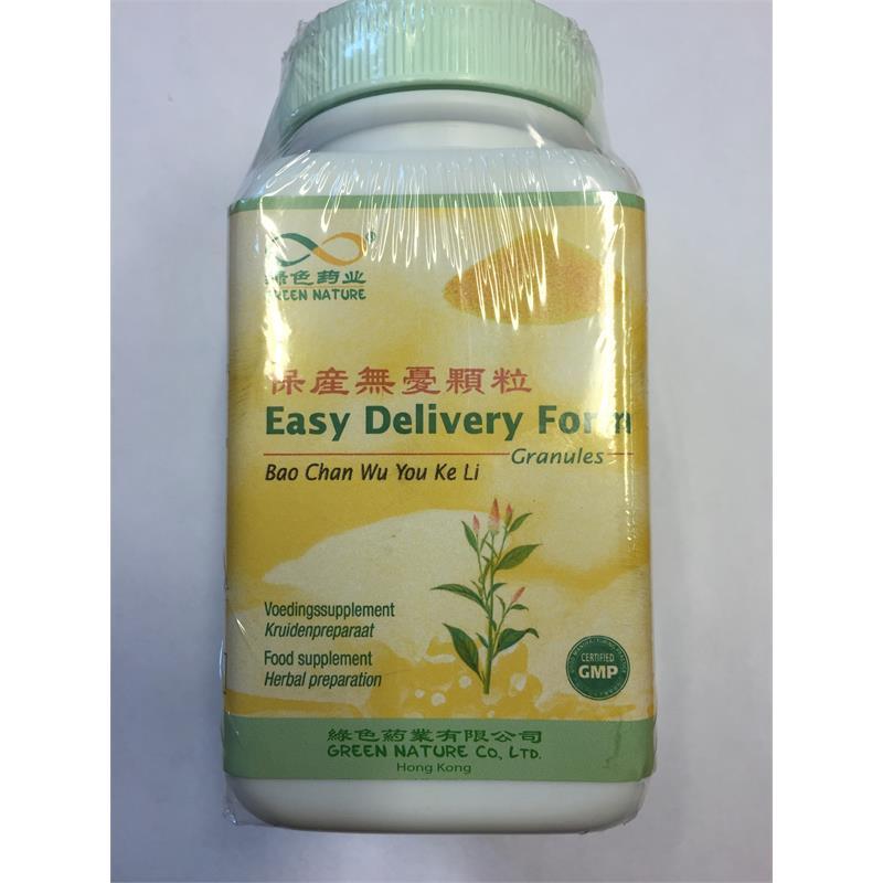 Easy Delivery Form Granules - Bao Chan Wu You Ke Li