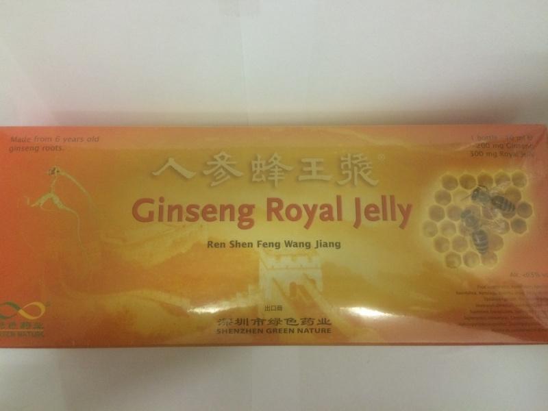 Ren shen feng wang jiang - Ginseng royal jelly 30 Btl