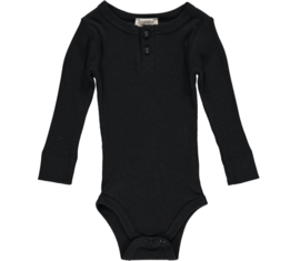 MarMar onesie long sleeve - Black
