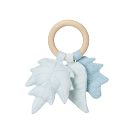 Camcam Leaves Rattle Mix Blue
