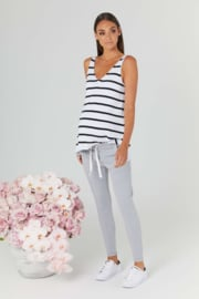 Legoe | Maternitytop Bateau Knit - Stripes