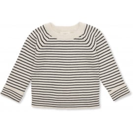 Konges Sløjd | Meo Knit Blouse Cotton Navy/Rice