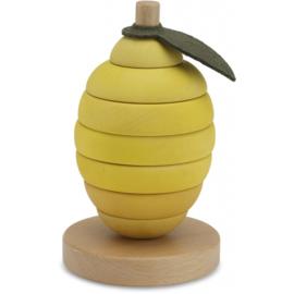 Konges Sløjd | Wooden Staplepuzzle Lemon