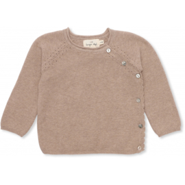 Konges Sløjd | Matheo Cardigan Brown Melange