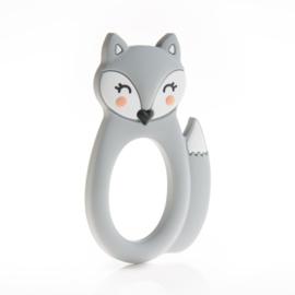 Little Cheeks - Teething Ring Fox grey
