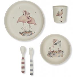 Konges Sløjd | Dinerset Flamingo