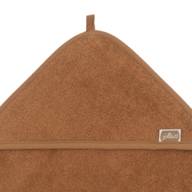 Jollein Badcape badstof 75x75cm caramel