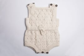 Shirley Bredal Bubble onesie off-white