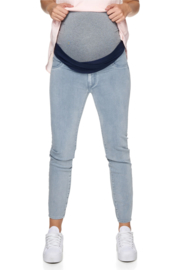Bae I Zwangerschapsbroek Day By Day Under Bump Jean - Denim Blue